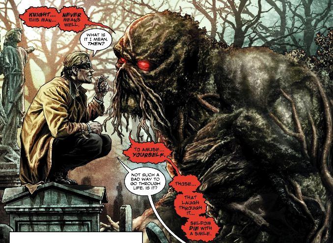 Batman Damned Créature du marais Constantine