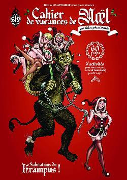 Le Cahier de vacances de Noël pour adultes geeks et déviants