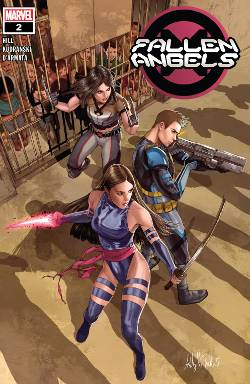 Fallen Angels 2 Psylocke X-23 Cable
