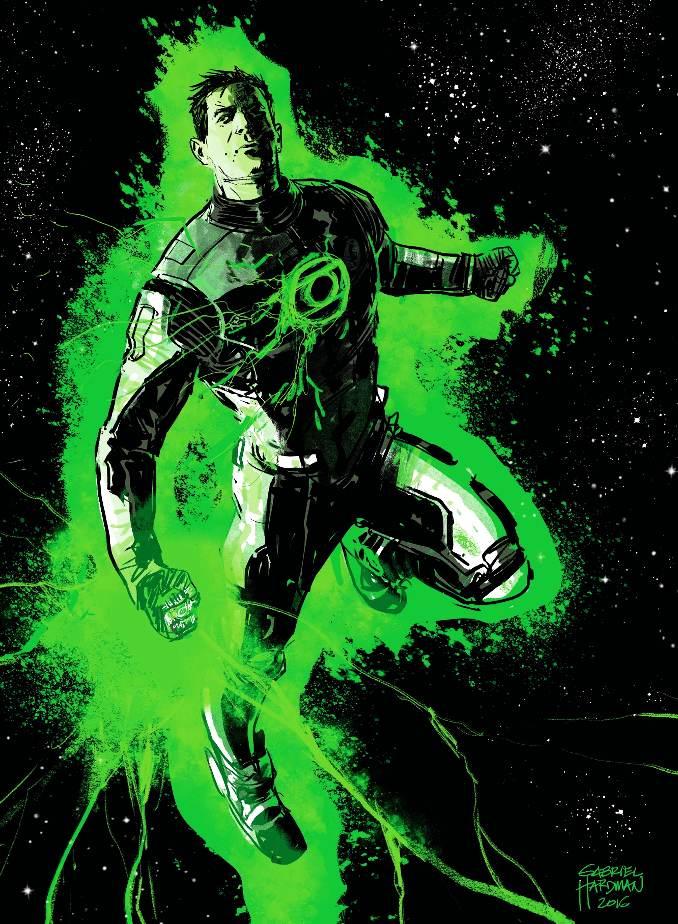 Green Lantern Terre-Un anneau Hal Jordan