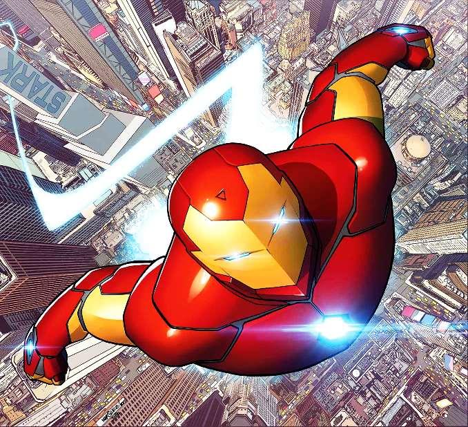 personnages Marvel préférés iron man