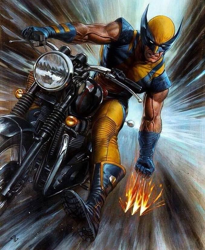 personnages Marvel préférés wolverine