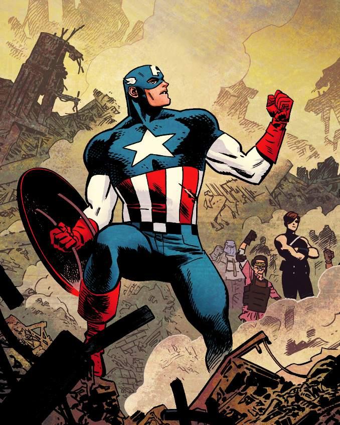 personnages Marvel préférés captain america