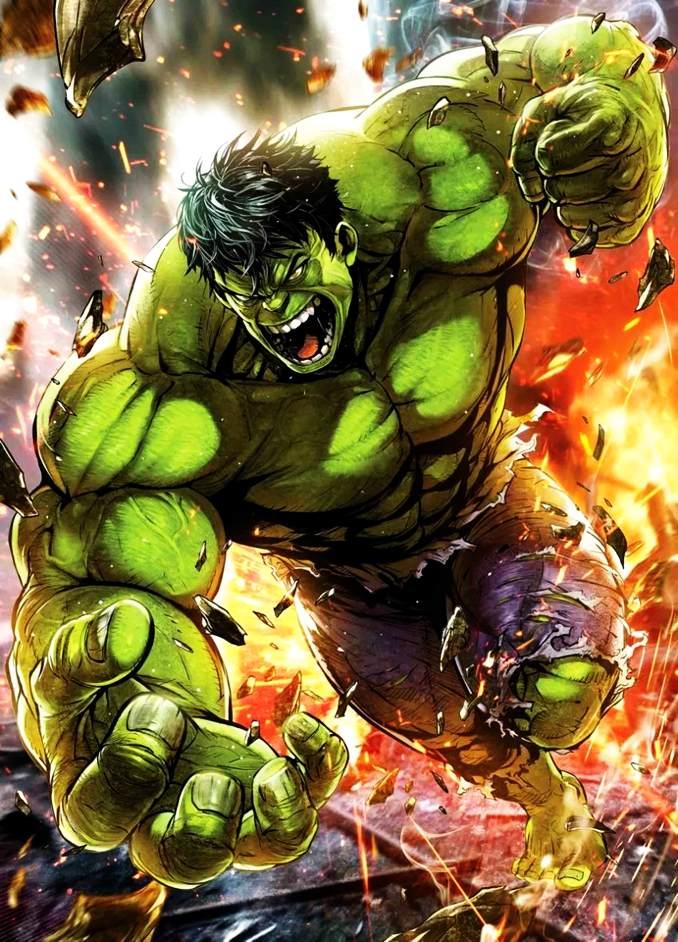 personnages Marvel préférés hulk