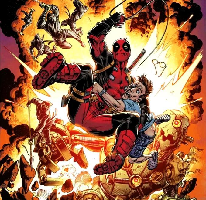 personnages Marvel préférés deadpool