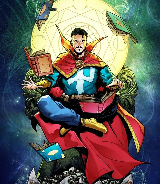 personnages Marvel préférés dr strange