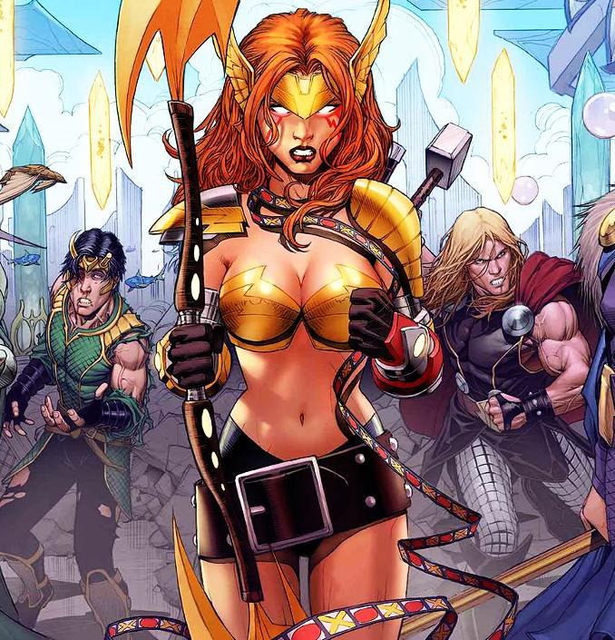 personnages Marvel préférés angela
