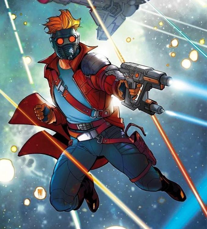 personnages Marvel préférés star-lord