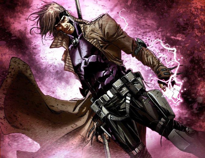 personnages Marvel préférés gambit