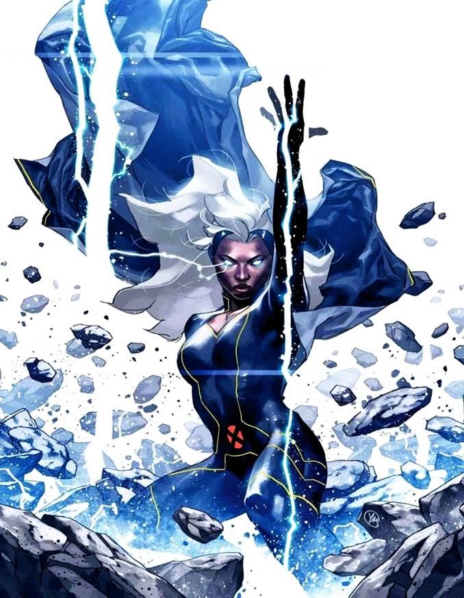 personnages Marvel préférés tornade