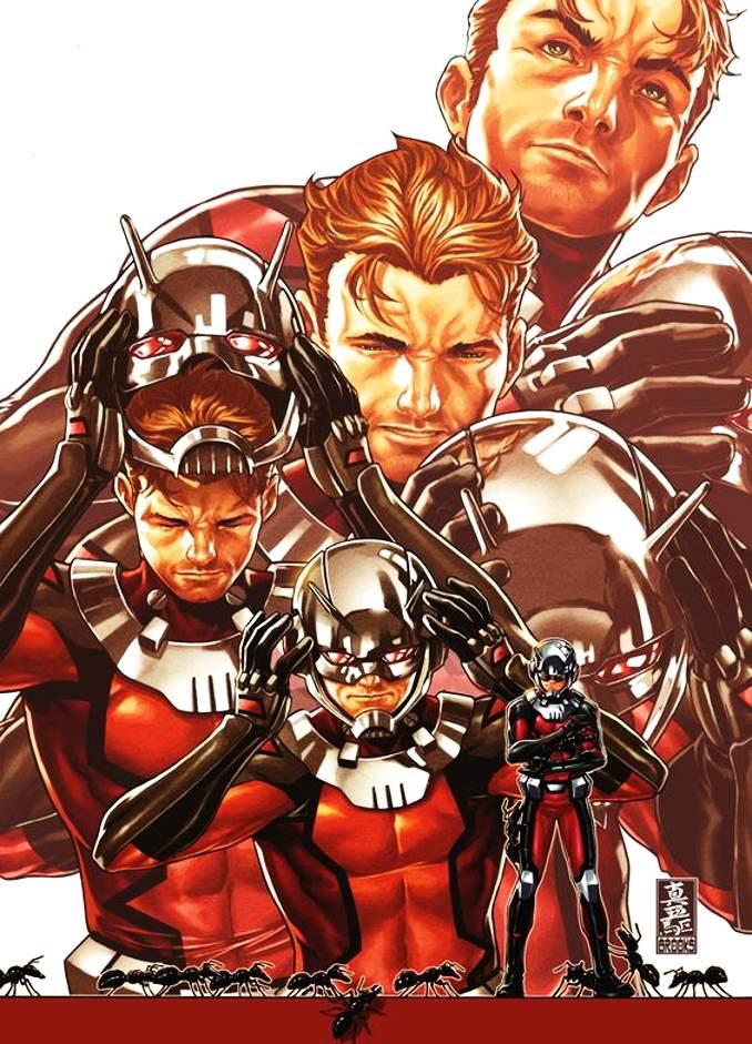 personnages Marvel préférés ant-man