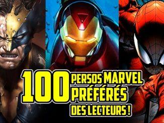 personnages Marvel préférés