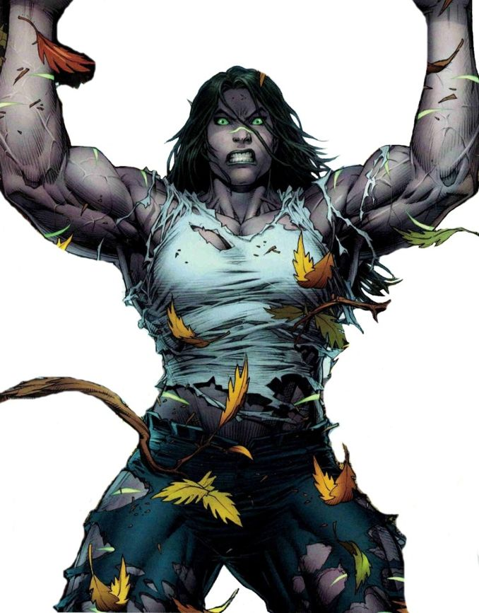 personnages Marvel préférés miss hulk