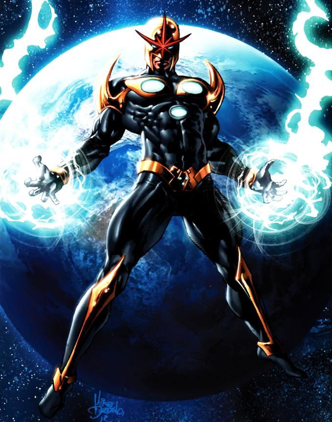 personnages Marvel préférés nova