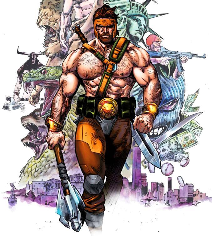 personnages Marvel préférés hercule