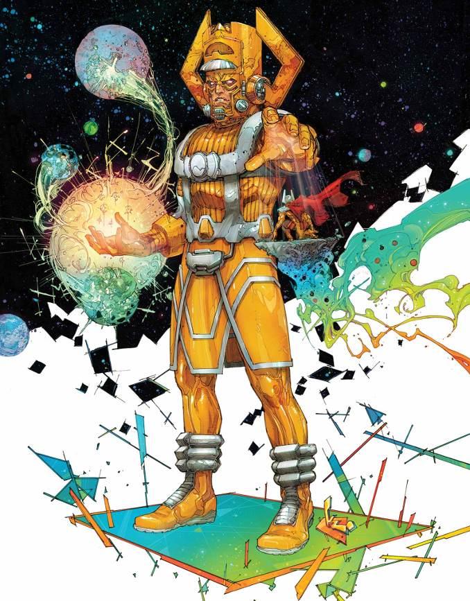 personnages Marvel préférés galactus