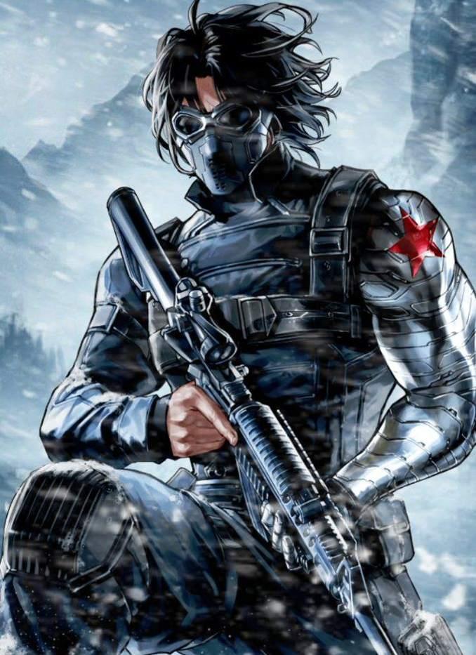 personnages Marvel préférés soldat de l'hiver
