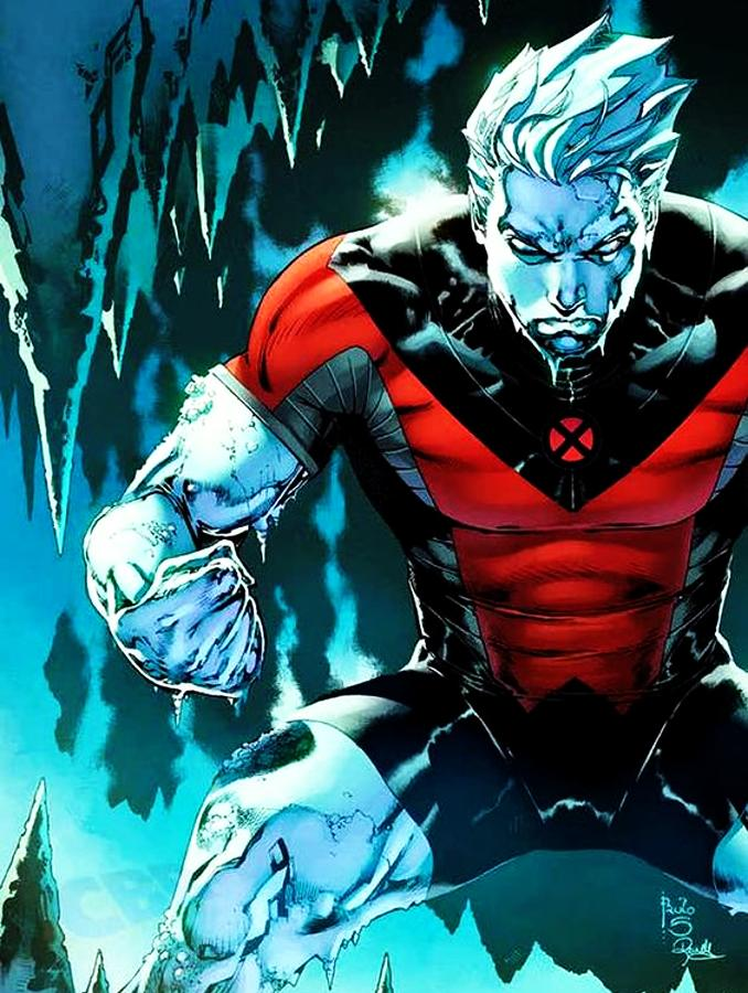 personnages Marvel préférés iceberg