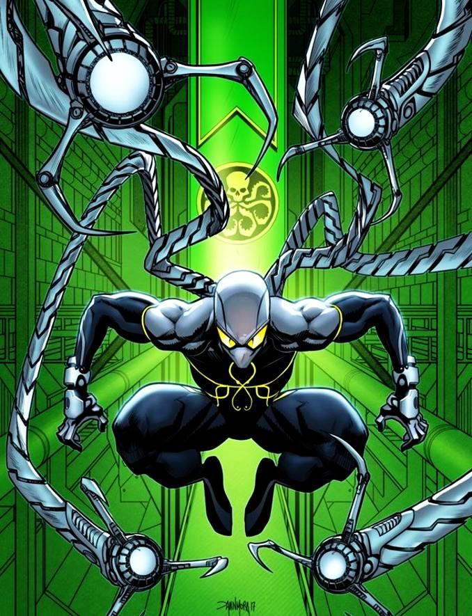 personnages Marvel préférés dr octopus