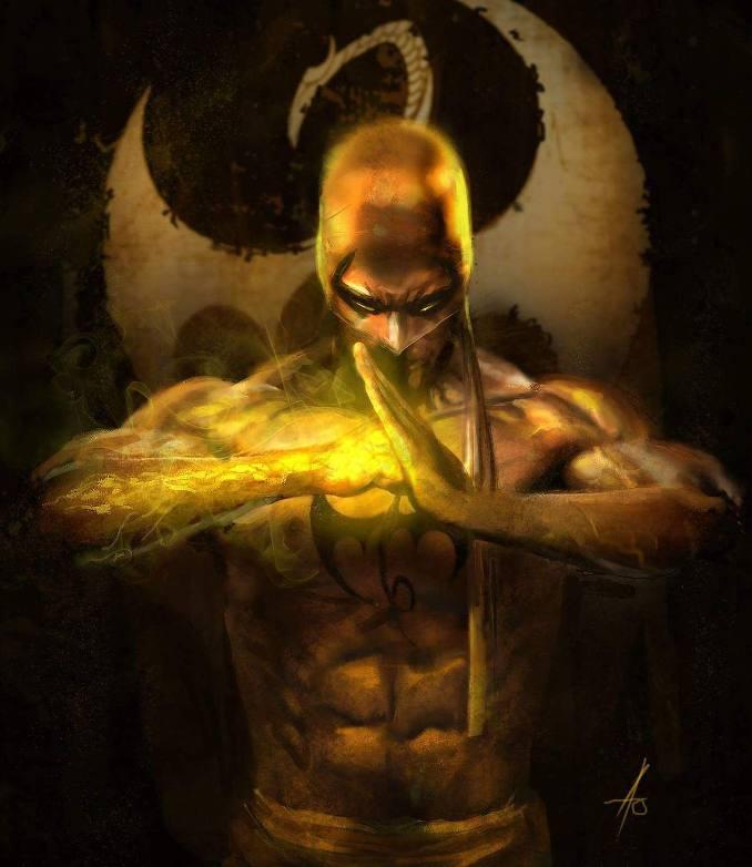 personnages Marvel préférés iron fist
