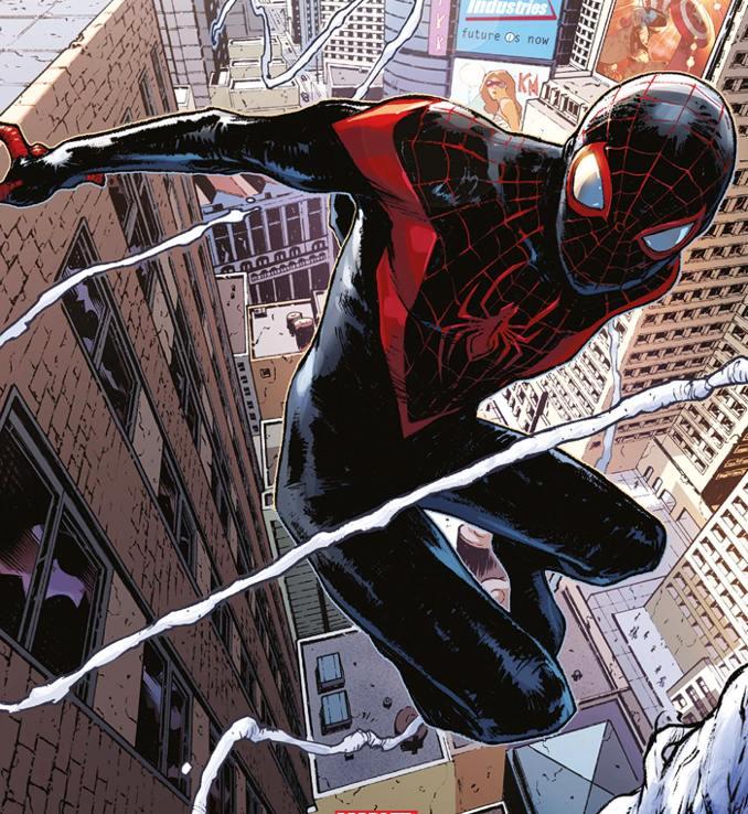 personnages Marvel préférés spider-man miles morales