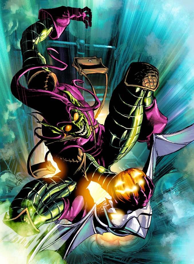personnages Marvel préférés bouffon vert