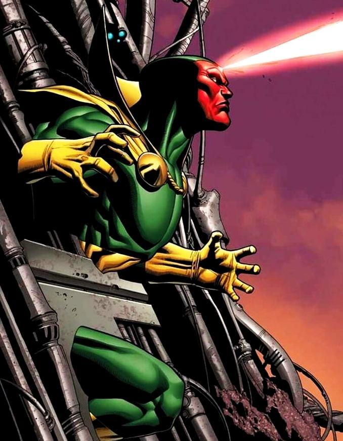 personnages Marvel préférés vision