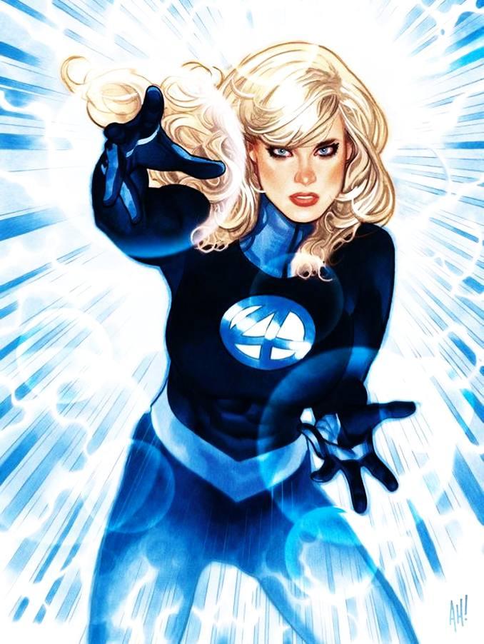 personnages Marvel préférés femme invisible