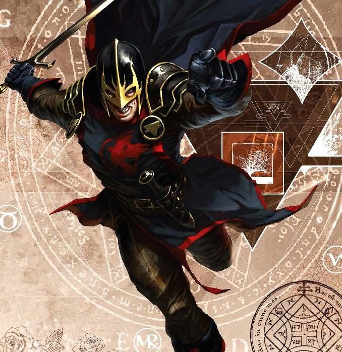 personnages Marvel préférés black knight