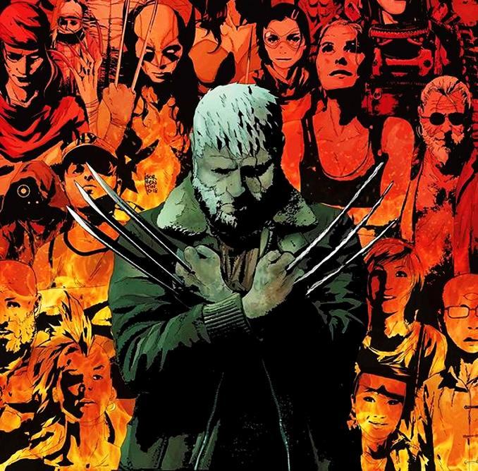 personnages Marvel préférés old man logan