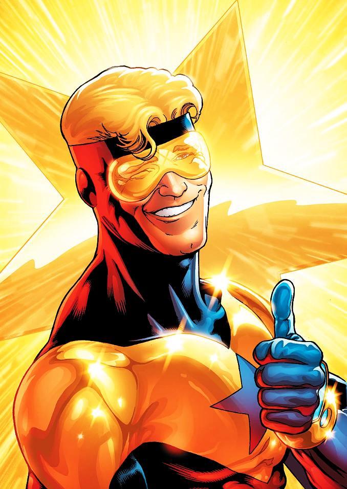 superhéros stars booster gold