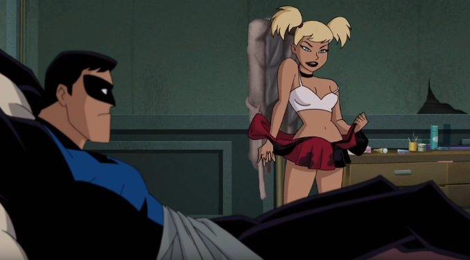 secrets Harley Quinn sexe nightwing