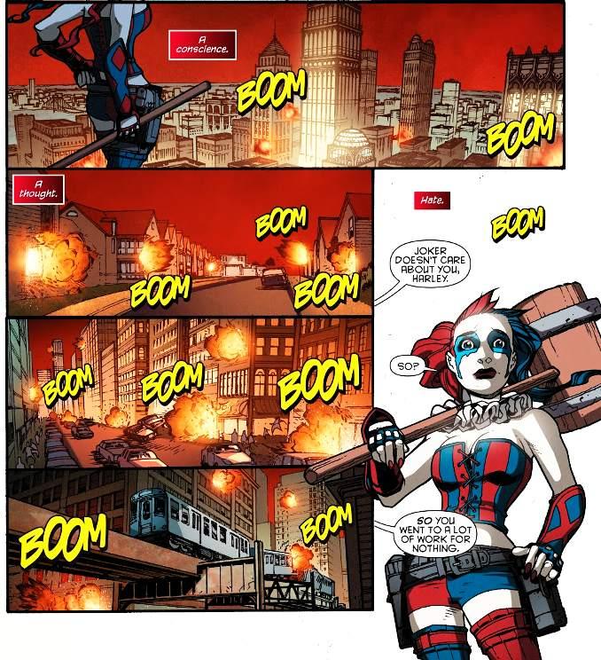 secrets Harley Quinn meurtre enfants