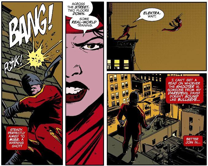 Incoming ! teaser Empyre Daredevil Elektra