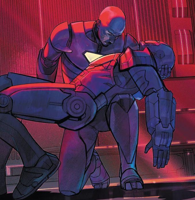invincible iron man tome 2 james rhodes