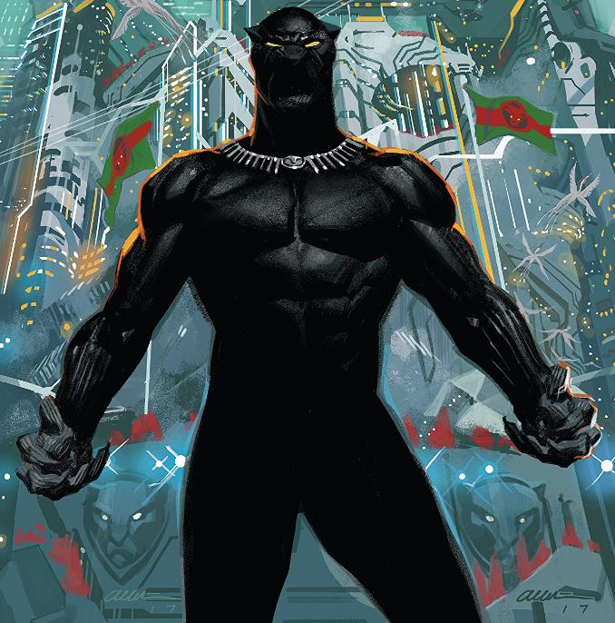 Panthère noire black panther tchalla