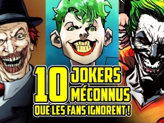 10 jokers de DC Comics