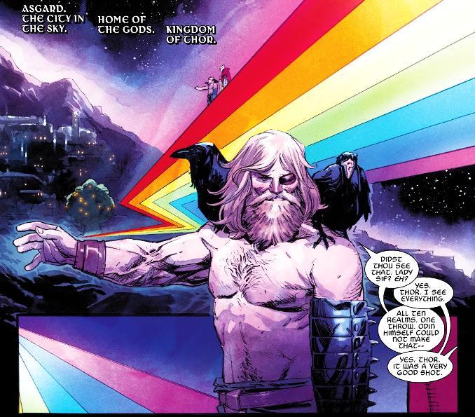 Thor 1 Donny Cates pont arc en ciel
