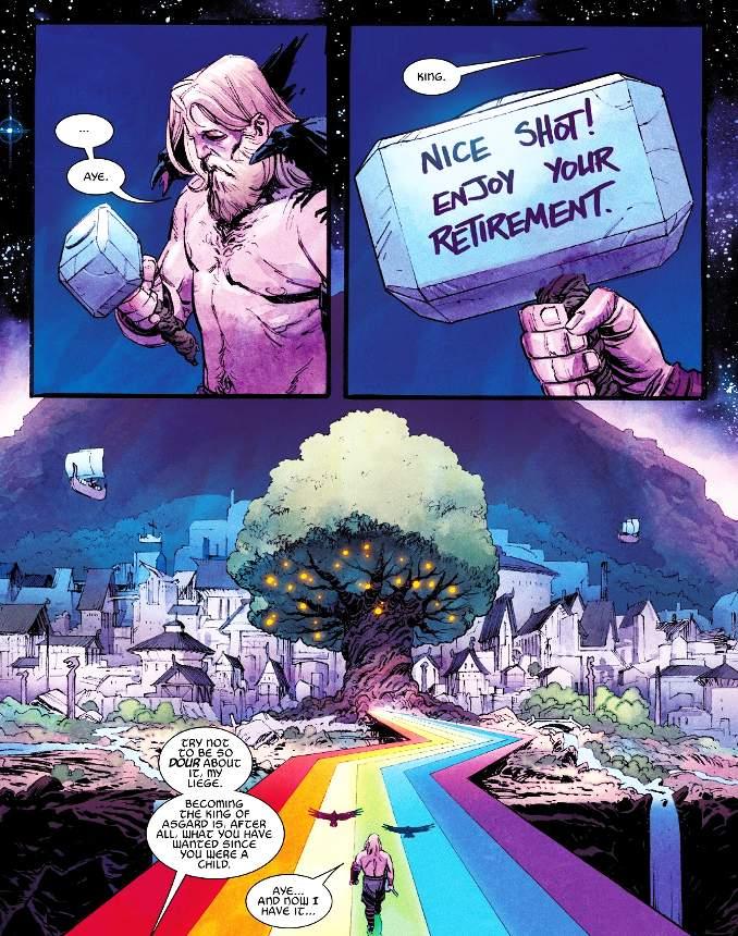 Thor 1 Donny Cates Iggdrasyl