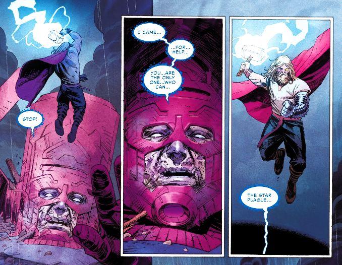 Thor 1 Donny Cates Galactus