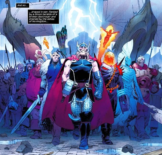 Thor 1 Donny Cates roi