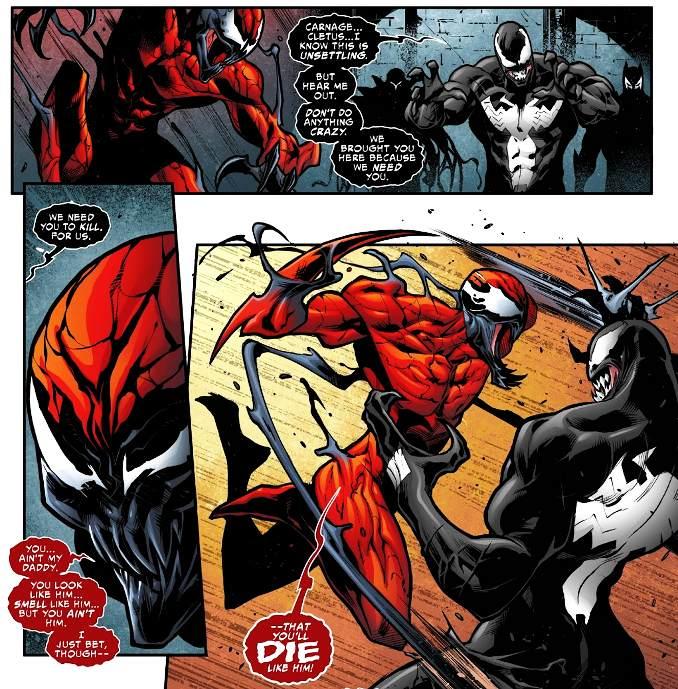 Venomverse carnage vs venom