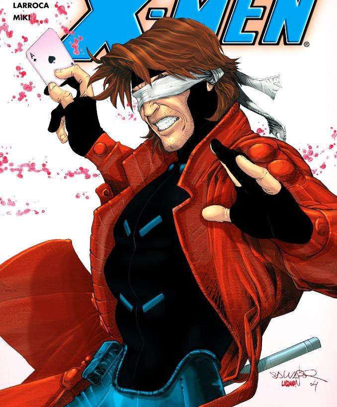 superhéros pouvoirs améliorés marvel dc gambit