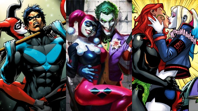 amours Harley Quinn