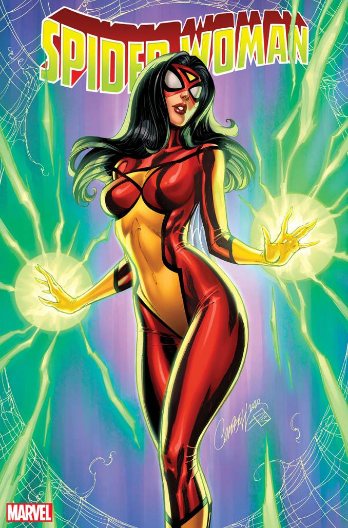 variant covers Spider-woman n°1 J Scott Campbell