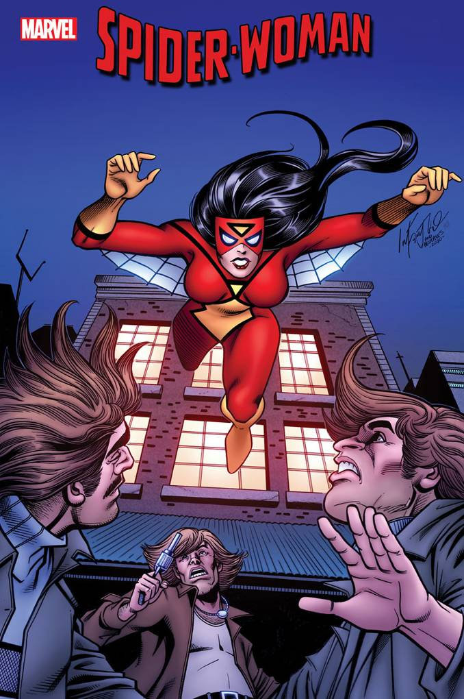 variant covers Spider-woman n°1 carmine infantino