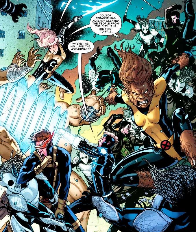 X-men war of the realms