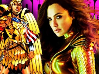 wWonder woman 1984 armure or