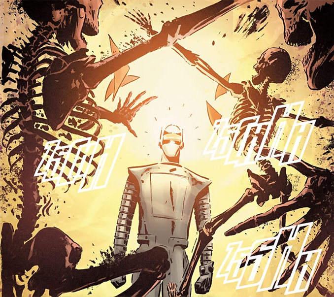 7 Robots Marvel Comics Human Robot M-11
