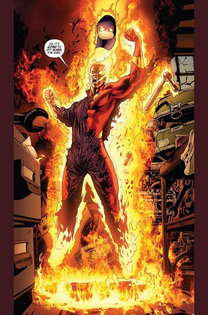 7 Robots Marvel Comics Human Torch